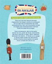Petit guide de conversation en anglais ; apprends à parler anglais avec Luke et Lila - 4ème de couverture - Format classique