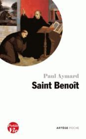 Petite vie de Saint Benoît - Couverture - Format classique