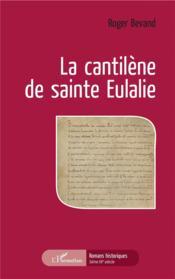 La cantilène de sainte Eulalie - Couverture - Format classique
