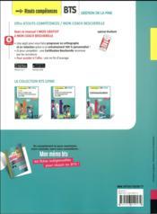 Communication ; BTS 1&2 GPME ; manuel (édition 2018) - 4ème de couverture - Format classique