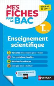 MES FICHES ABC DU BAC T.10 ; enseignement scientifique ; terminale (édition 2020) - Couverture - Format classique