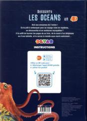 Découvre les océans en 4D - 4ème de couverture - Format classique