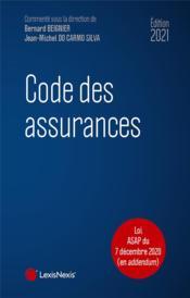 Code des assurances (édition 2021) - Couverture - Format classique