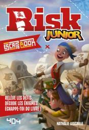 Escape book ; risk junior - Couverture - Format classique