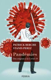 Pandémies ; des origines à la Covid-19 - Couverture - Format classique