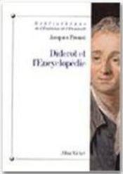 Diderot et l'encyclopédie - Couverture - Format classique