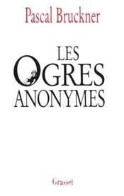 Les ogres anonymes - Couverture - Format classique