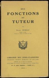 Des Fonctions Du Tuteur - Couverture - Format classique