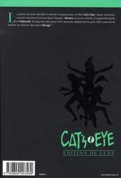 Cat's eye T.4 - 4ème de couverture - Format classique