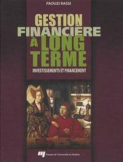 Gestion financière à long terme - Intérieur - Format classique