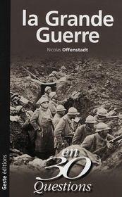 La grande guerre en 30 questions - Intérieur - Format classique