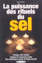 Puissance des rituels du sel (la) - Intérieur - Format classique