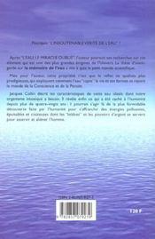 Insoutenable Verite De L'Eau (L') - 4ème de couverture - Format classique