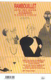 Cote Des Vins 2004 - 4ème de couverture - Format classique