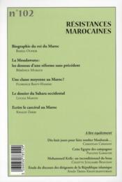 Cahiers De L'Orient N.102 ; (Printemps 2011) - 4ème de couverture - Format classique