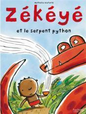 Zékéyé et le serpent python - Couverture - Format classique