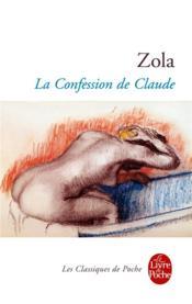 La confession de Claude - Couverture - Format classique