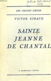 Sainte Jeanne De Chantal. - Couverture - Format classique
