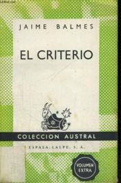 El Criterio - Couverture - Format classique