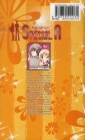 Special A t.18 - 4ème de couverture - Format classique
