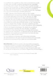 L'océan sous haute surveillance ; qualité environnementale et sanitaire - 4ème de couverture - Format classique