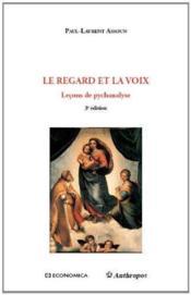 Le Regard Et La Voix, 3e Edition - Couverture - Format classique