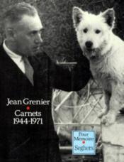 Carnets 1944-1971 - Couverture - Format classique