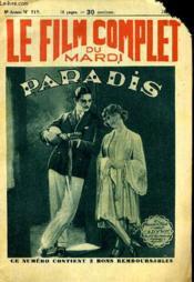 Le Film Complet Du Mardi N° 717 - 8eme Annee - Couverture - Format classique