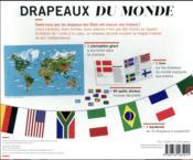 Drapeaux du monde - 4ème de couverture - Format classique