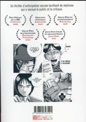 Ikigami t.3 - 4ème de couverture - Format classique