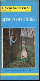 Cheminements N°19-20 / Avril-Mai / Quand L'Amour S'Eveille Pour Les Garcons De 14 A 17 Ans. - Couverture - Format classique