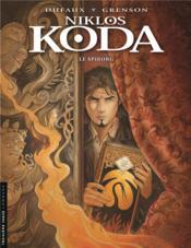 Niklos Koda T.14 ; le Spiborg - Couverture - Format classique