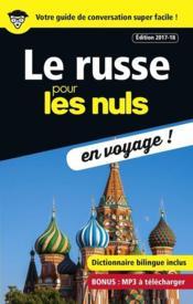 Le russe pour les nuls en voyage ! (édition 2017/2018) - Couverture - Format classique