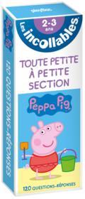 Les incollables ; révise avec Peppa Pig ; de la TPS à la PS - Couverture - Format classique