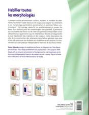 Habiller toutes les morphologies (2e édition) - 4ème de couverture - Format classique