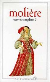 Oeuvres complètes t.2 - Couverture - Format classique