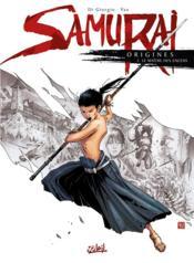 Samurai - origines T.2 ; le maître des encens - Couverture - Format classique