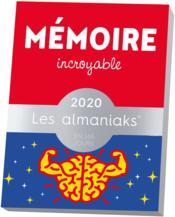 Almaniak mémoire incroyable (édition 2020) - Couverture - Format classique