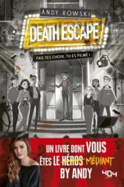 Death escape : fais tes choix, tu es filmé ! - Couverture - Format classique
