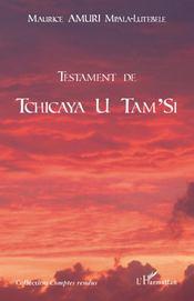 Testament de Tchicaya U Tam'Si - Couverture - Format classique