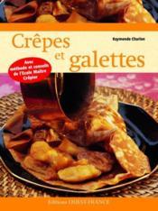 Crêpes et galettes - Couverture - Format classique
