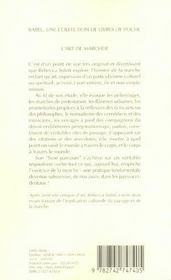 L'Art De Marcher - 4ème de couverture - Format classique