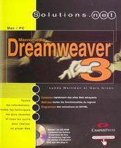 Solutions Net Dreamweaver 3 - Intérieur - Format classique