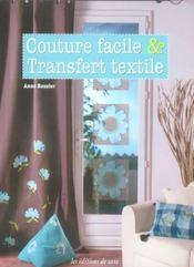 Couture facile & transfert textile - Intérieur - Format classique