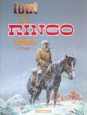 Tout vance t.8 ; intégrale Ringo t.1 - Intérieur - Format classique