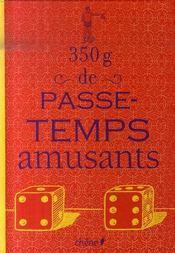 350g De Passe-Temps Amusants - Intérieur - Format classique