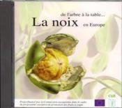 La noix en europe : de l'arbre a la table... cd-rom - Couverture - Format classique
