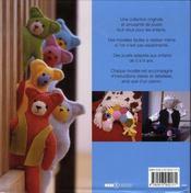 Jouets à coudre - 4ème de couverture - Format classique
