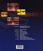 Messagers de la terre - 4ème de couverture - Format classique