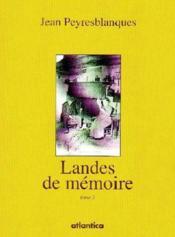 Landes de mémoire t.2 - Couverture - Format classique